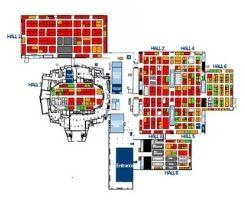 europort digital floor plan